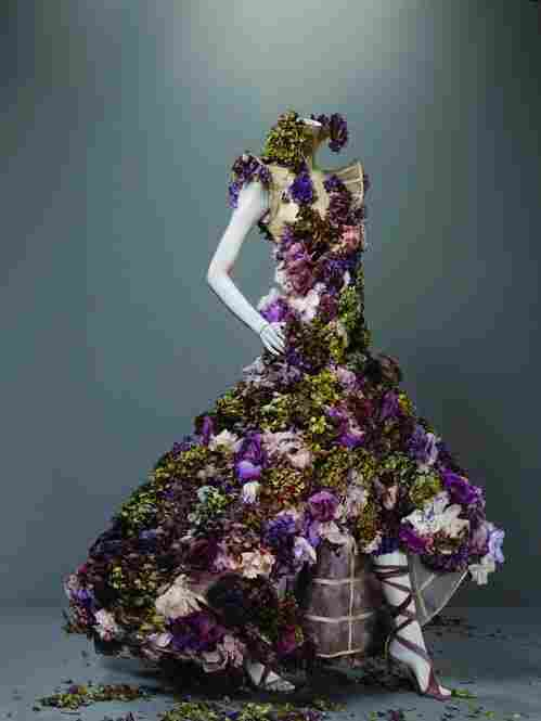 Alexander McQueen (British, 1969 - 2010). Dress, Sarabande, spring/summer 2007.