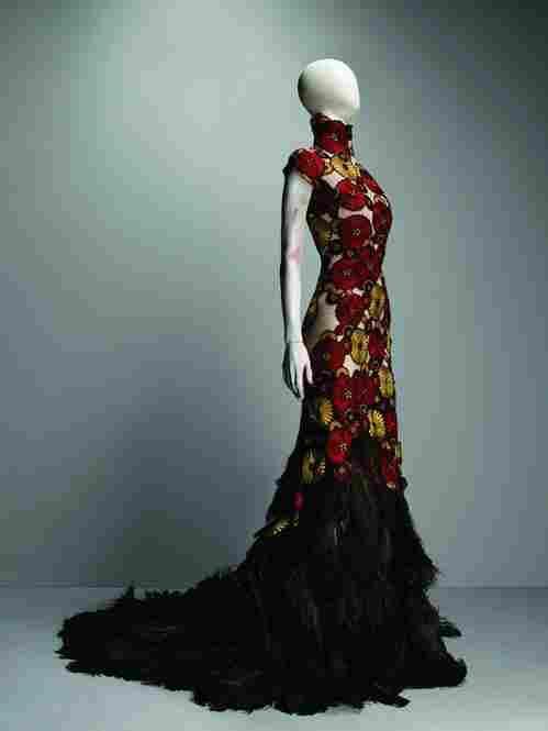 Alexander McQueen (British, 1969 - 2010). Dress, VOSS, spring/summer 2001.