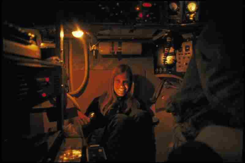 """There's very little space for the pilot and two scientist-observers aboard the tiny sub, says ocean scientist Kathy Crane. """"It's between the amount of personal space you'd have in a coffin and the Apollo spacecraft."""""""