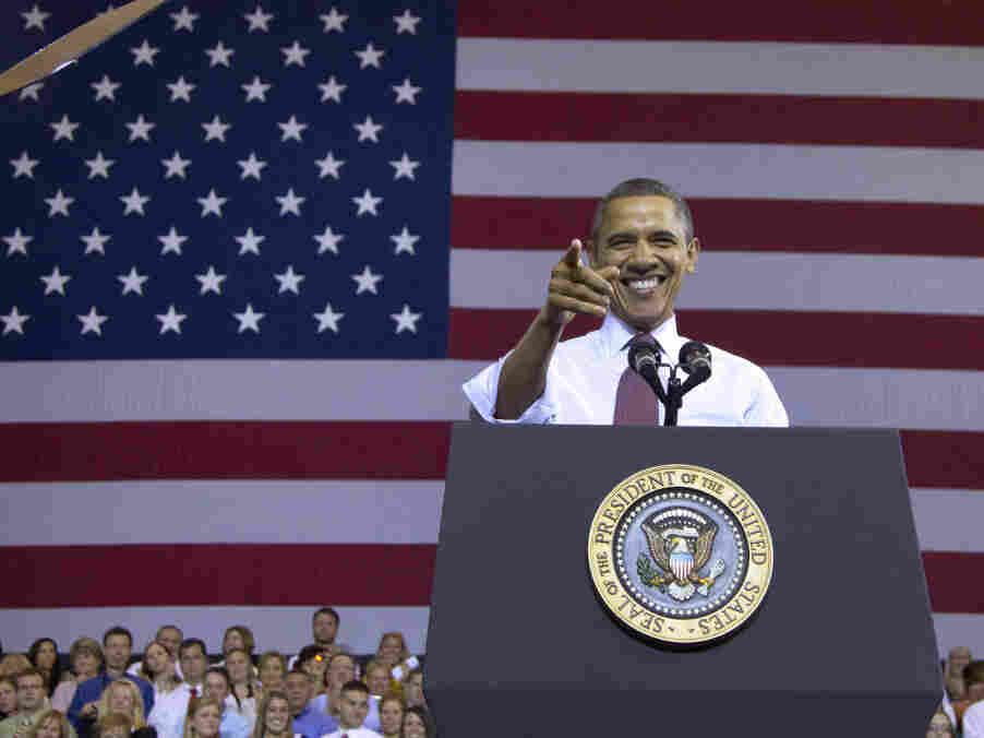 """President Obama delivers an economic speech Tuesday in Osawatomie, Kan., where Teddy Roosevelt issued a famous call for a """"New Nationalism"""" 101 years ago."""