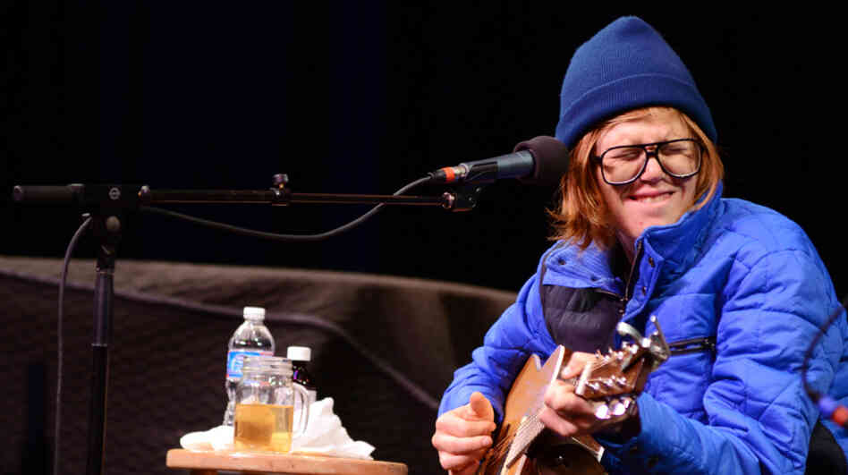 Brett Dennen performs on Mountain Stage.