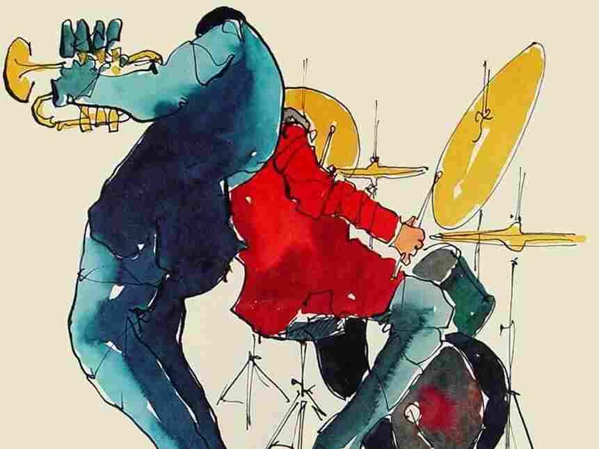 Artwork from the Thad Jones-Mel Lewis Orchestra's 1970 album Consummation.
