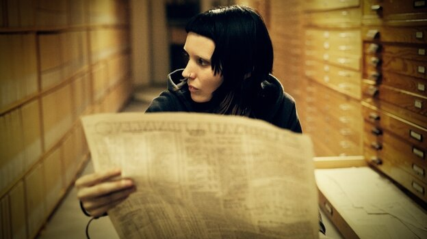 Rooney Mara stars in The Girl With The Dragon Tattoo.