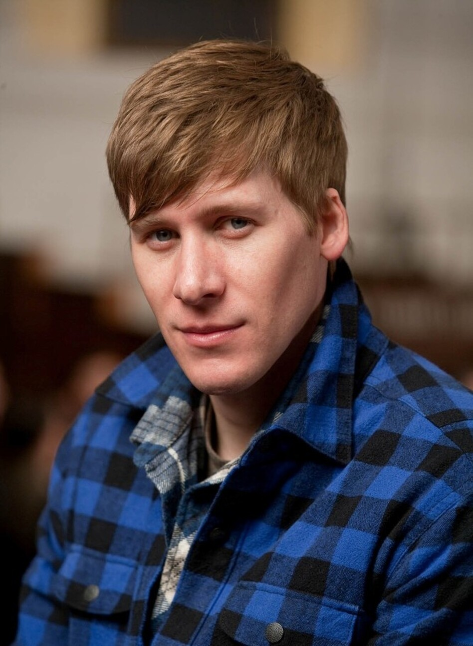 """There are certain biographers who are more liberal with the truth, and want to give an impression of the truth,"" says Dustin Lance Black. ""For me, I wanted to get as close to the truth as possible. Because I knew that this film would go under attack — and I wanted to be able to defend it.""  (Warner Bros. Pictures)"