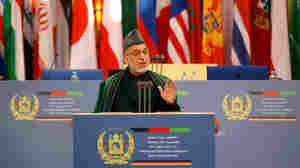 Afghan President Pleads For Long-Term Aid