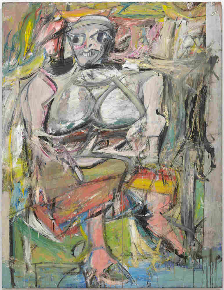 Woman I (1950-52) is one of the works featured in de Kooning: A Retrospective. The exhibit is on display at the Museum of Modern Art through Jan. 9, 2012.