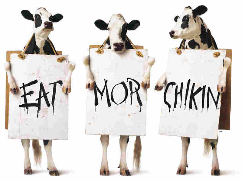 "Chick-fil-A launched its award-winning ""Eat Mor Chikin"" ad campaign in 1995."