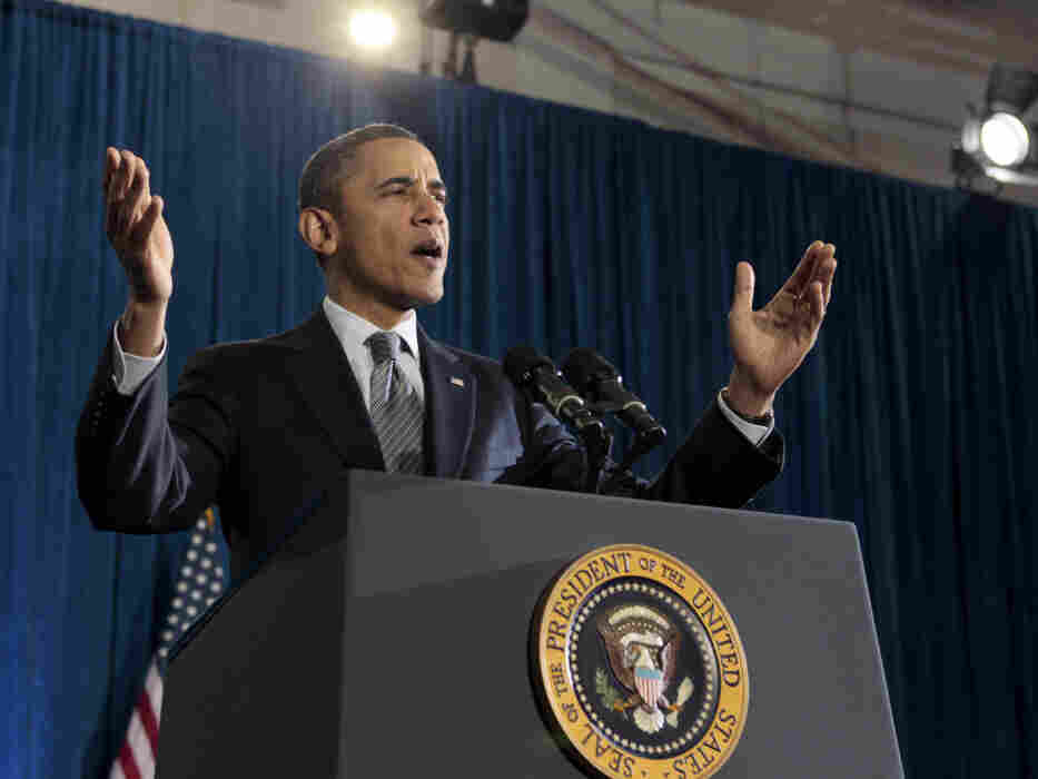 President Obama tapped his inner Theodore Roosevelt, Tuesday, Dec. 6, 2011.