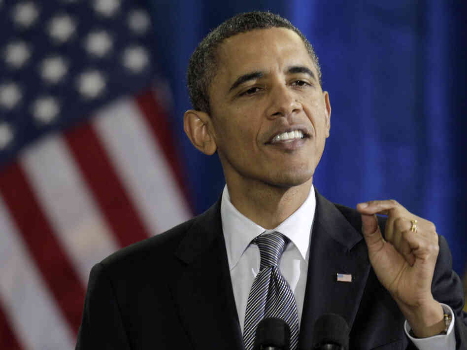 President Obama advocated in a speech in Kansas on Tuesday for extending the payrol