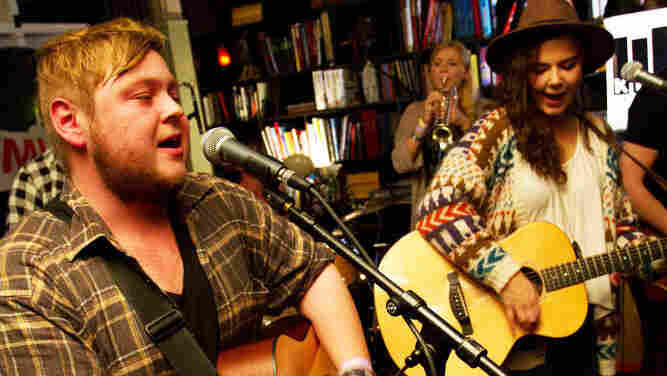 Of Monsters and Men perform for KEXP from the KEX Hostel in Reykjavik, Iceland during the Iceland Airwaves festival.
