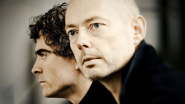 Tenor Mark Padmore (right) and pianist Paul Lewis have teamed up again for the songs of Franz Schubert.  (HM)