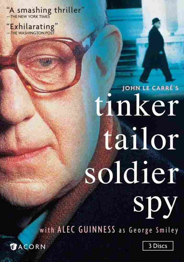 The cover of Tinker Tailor Soldier Spy.