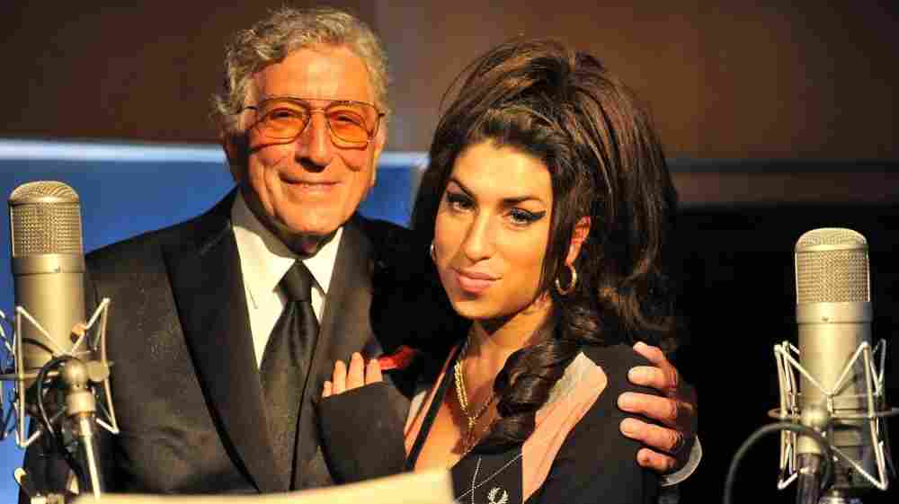 Tony Bennett and Amy Winehouse.