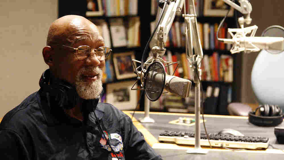 John Carlos speaks at NPR in Washington, D.C.