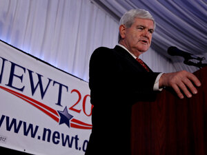 """In 1995, Time magazine named Newt Gingrich """"Man of the Year"""" for his role in ending the four-decades-long Democratic majority in the House of Representatives."""