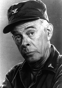 Harry Morgan, as Col. Potter.