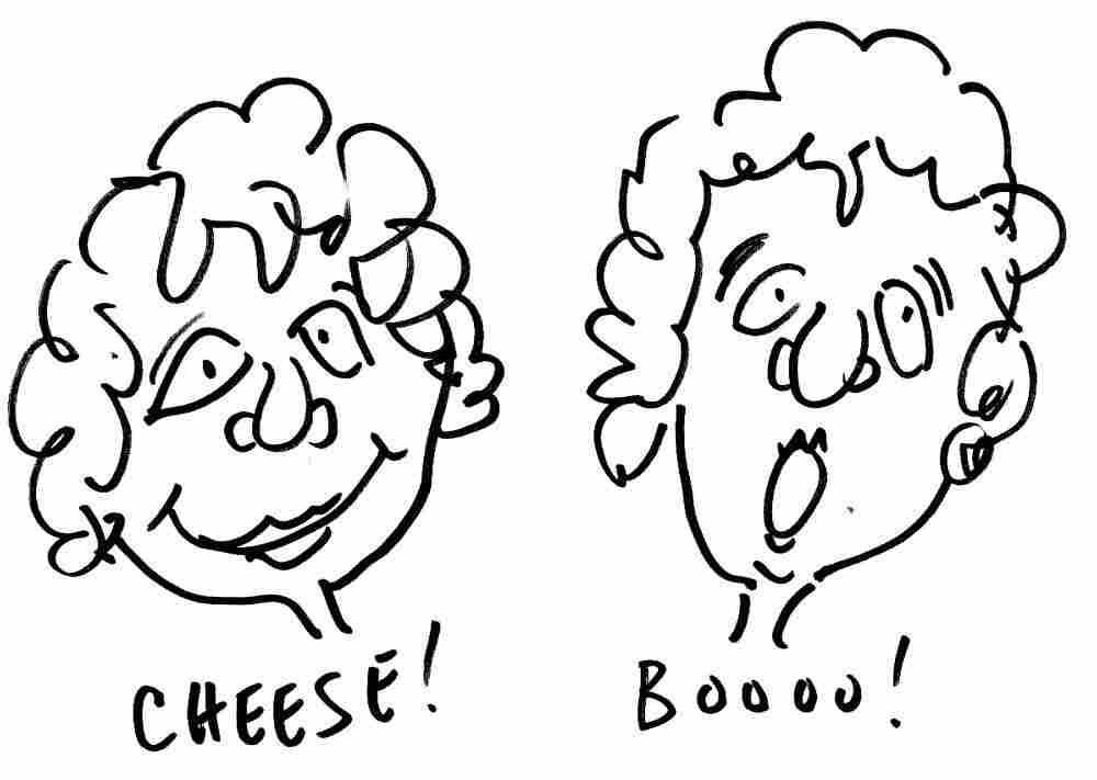 Cheese vs. Boo.