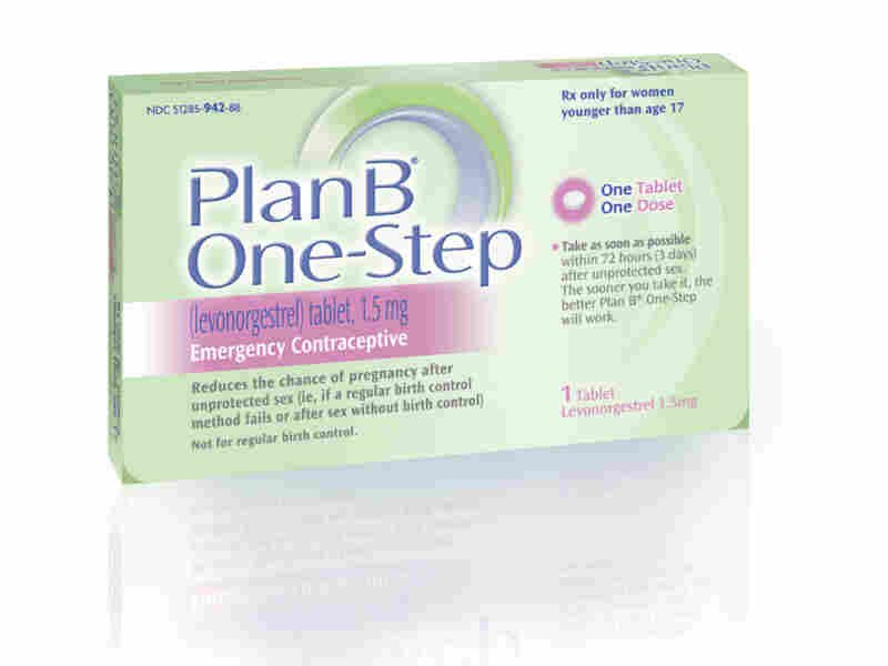 Teenagers won't be able to the emergency contraceptive Plan B One-Step without a prescription.