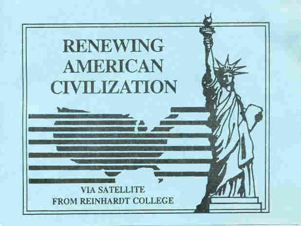 Newt Gingrich used these lecture notes and similar pamphlets as part of the 1994 college course that became central to a later House ethics investigation.