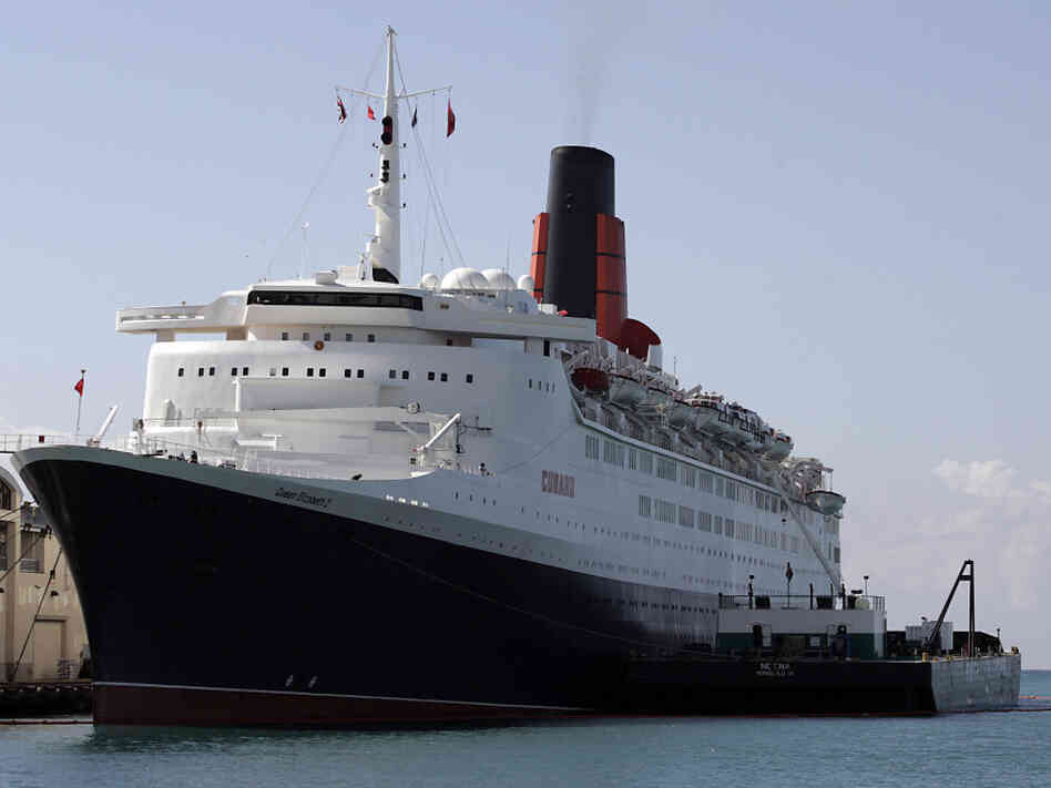 In early 2007, health officials boarded the Queen Elizabeth 2 (seen here in Honolulu) to investigate a stomach flu outbreak that sickened more than 300 people.