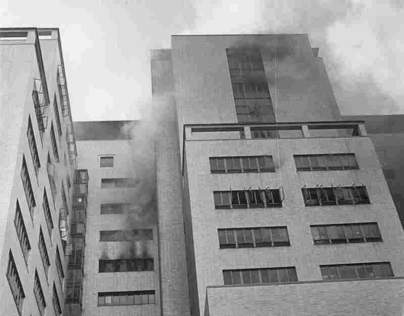 On Friday, Dec. 8, 1961, a three-alarm fire raced through a trash chute, killing 16 people at the Hartford Hospital in Hartford, Conn.