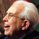 Composer Elliott Carter celebrated his 103rd birthday Thursday at a concert given in his honor at the 92nd Street Y (with Carol Archer, left, co-producer of the event).
