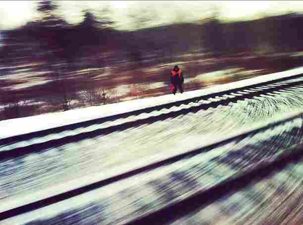 Snow is seen on the tracks of the Trans-Siberian railway. Throughout history, people in Siberia have had to develop methods for dealing with the region's brutal cold.