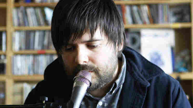 Gem Club plays a Tiny Desk Concert at the NPR Music offices on November 3, 2011.