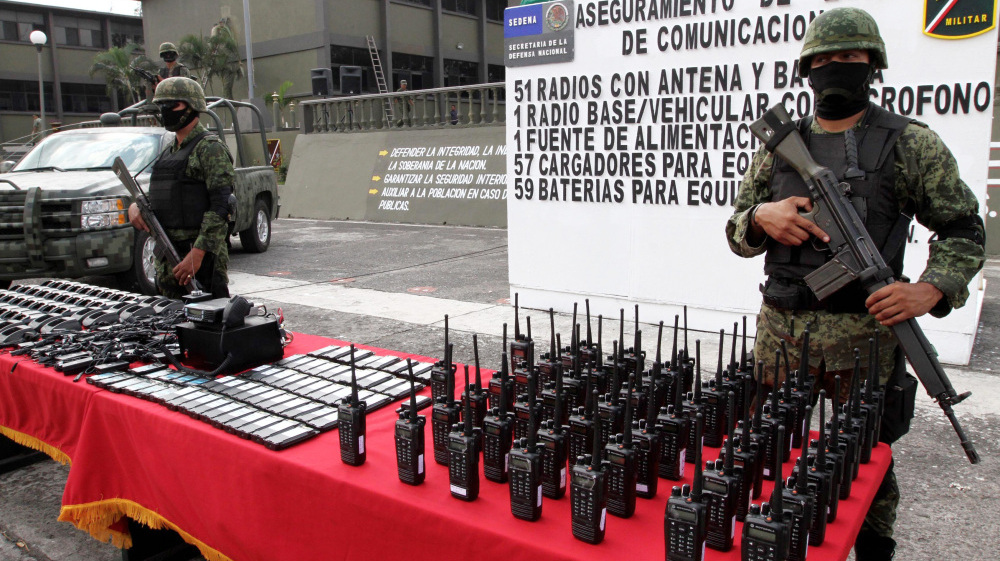 Mexico Busts Drug Cartels' Private Phone Networks
