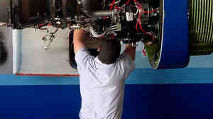 The best airplane mechanics are skilled at everything from metal part fabrication to electronics to lavatory plumbing. Other, better-paying companies soon become interested in their skills.
