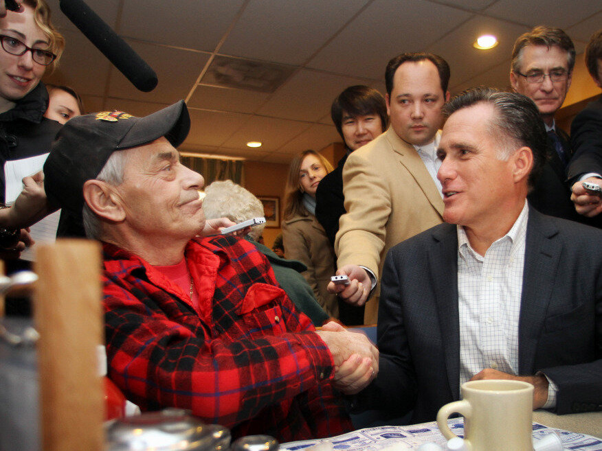 Romney on gays in the military