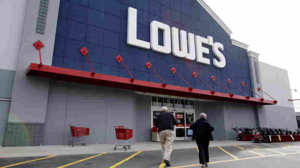A Lowe's store in Saugus, Mass.