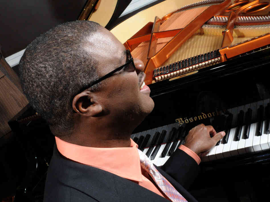 "Jazz pianist Marcus Roberts turns the exuberant ""Joy to the World"" into a ragtime tinged with melancholy."