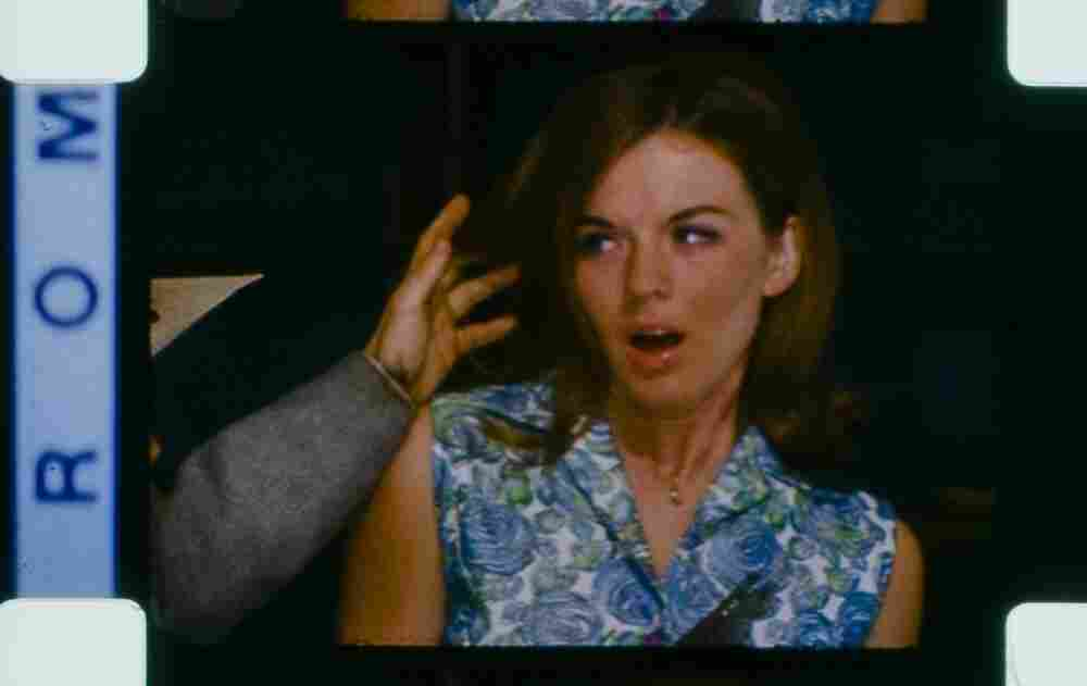 This shot, from the workprint of Manos: The Hands Of Fate, shows actress Diane Mahree playing Margaret.