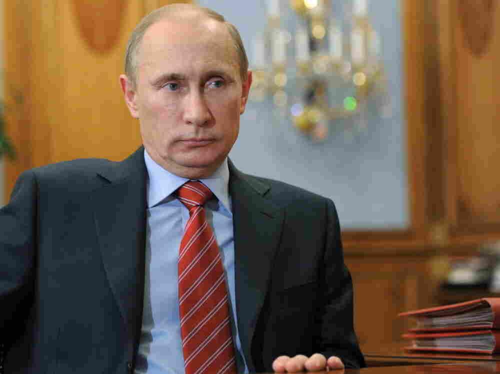 Russian Prime Minister Vladimir Putin.