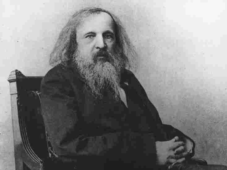 Dmitri Mendeleev (1834 - 1907), Russian chemist and discoverer of periodicity.
