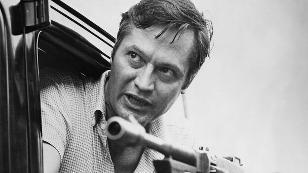 Roger Corman at work on the set of Bloody Mama (1970), one of the dozens of horror films he directed.