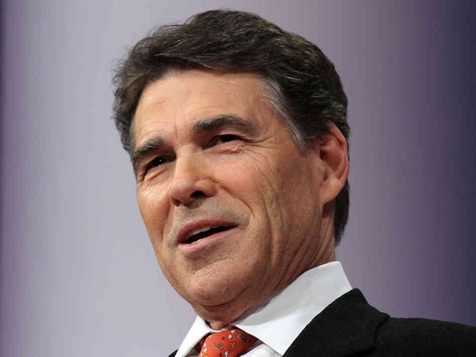 Texas Gov. Rick Perry speaks at the Republican Jewish Coalition 2012 Presidential Candidates Forum in Washington, D.C., last week.