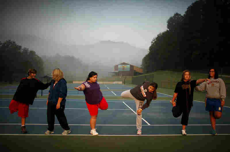 Located in the mountains of North Carolina, Wellspring Academy is a boarding school for overweight teenagers. In addition to their regular classes, students learn to control their weight through a healthful diet, physical activity and counseling.
