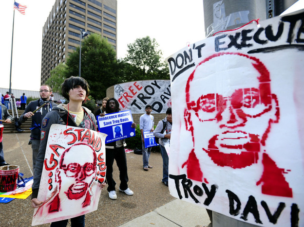 The high-profile case of Troy Davis sparked national debate on the death penalty. Richard Dieter, executive director of the Death Penalty Information Center, says there's growing discontent among Americans about capital punishment.