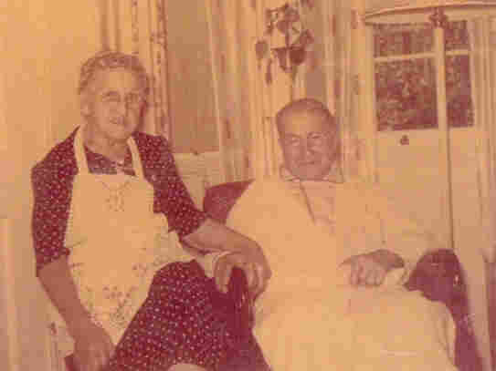 Reporter Julie Rose's great-great-grandmother, Mary, and her husband, Frank Joseph Dusek