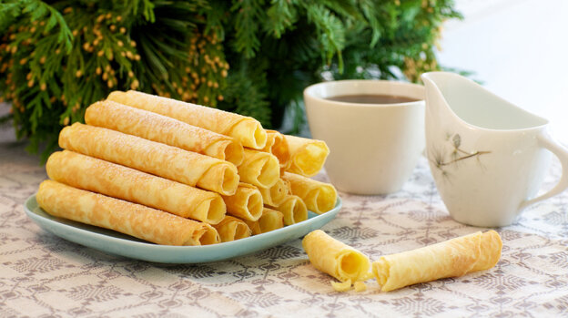 Because of a butter shortage, there will be fewer krumkake cookies eaten in Norway this Christmas.