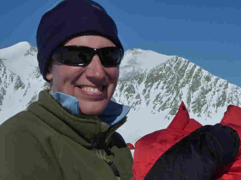 Felicity Aston says she embarked on her Antarctic trek to find her personal limits.