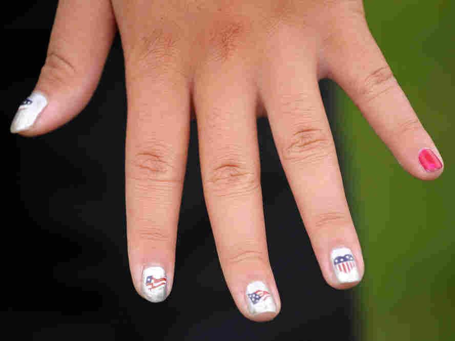 Team USA nail polish