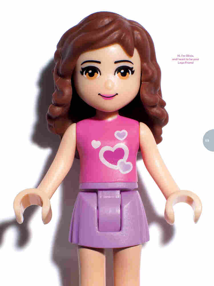 "The new Lego Friends toys are not yet public, but the company gave a sneak peek at its ""Olivia"" minifigure from the set."