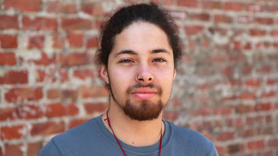 Youth Radio's Sayre Quevedo, 19, attends community college and lives in Oakland, Calif.