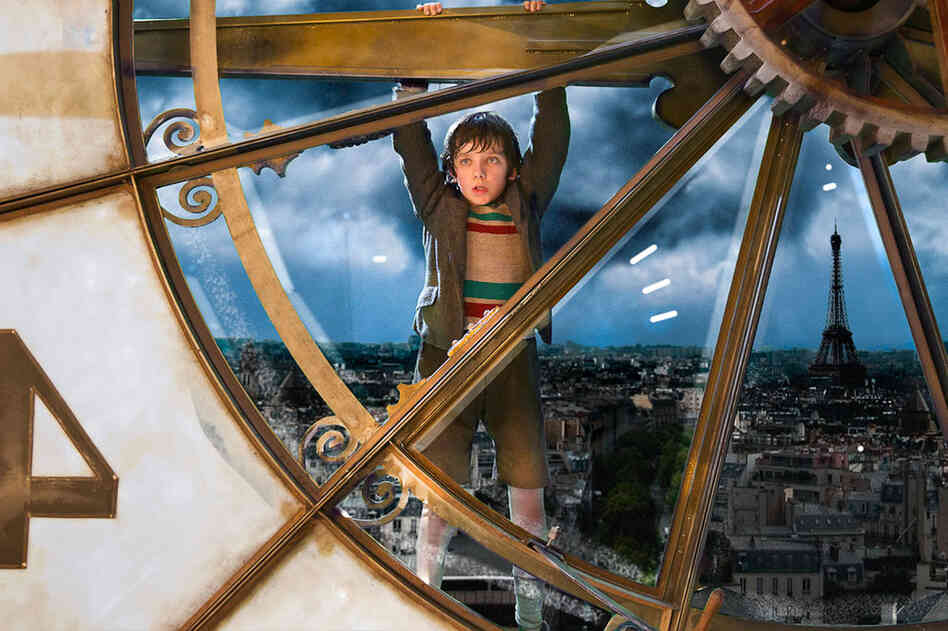 Asa Butterfield plays the orphaned protagonist in director Martin Scorsese's film Hugo. The National Board of Review selected Hugo as the year's Best Film and Scorsese as Best Director.