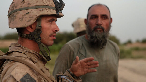 At the heart of Hell and Back Again is 26-year-old Sgt. Nathan Harris (left). The documentary film — which won the Grand Jury Prize at the 2011 Sundance Film Festival — shows a wounded Harris' struggles with combat stress and addictive opiates after his return to the U.S.