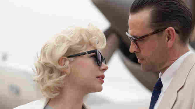 Michelle Williams and Dougray Scott star in the very sad My Week With Marilyn, which the Golden Globes nominated ... as a comedy or musical.