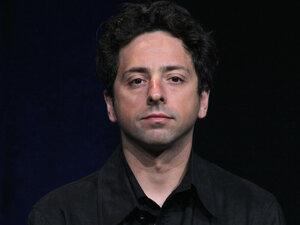 Google co-founder Sergey Brin.